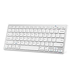 Anker Ultra Compact Bluetooth Keyboard for $12.99, Anker Bluetooth Keyboard Case for Apple iPad 4/3/2 (Black) $25.99 AC + FSSS