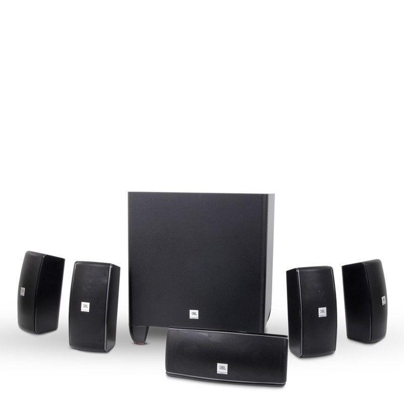 JBL Cinema 610 5.1 Channel Home Speaker System $179 + Free S