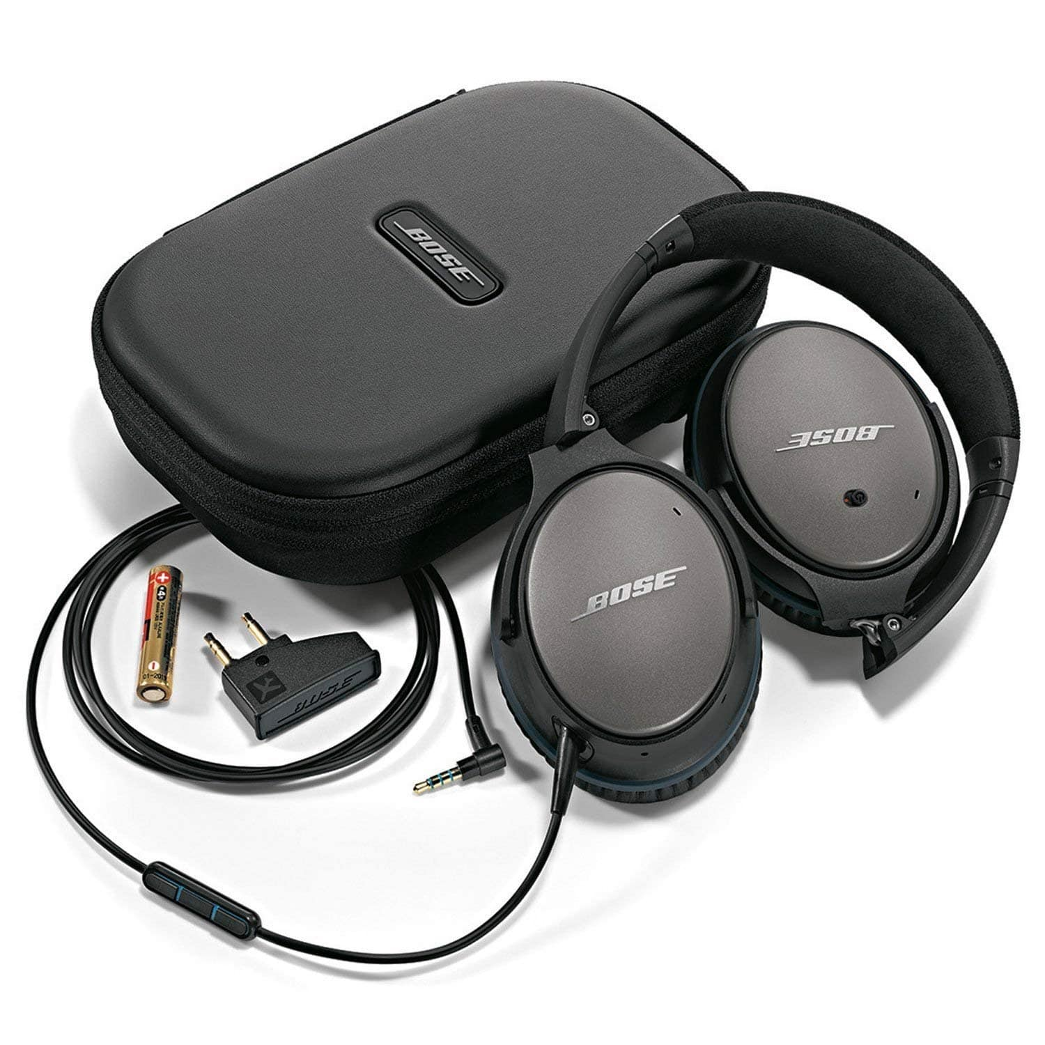 Bose QuietComfort 25 Acoustic Noise Cancelling Wired Headphones for Apple or Samsung/Android - $145 + Free Shipping