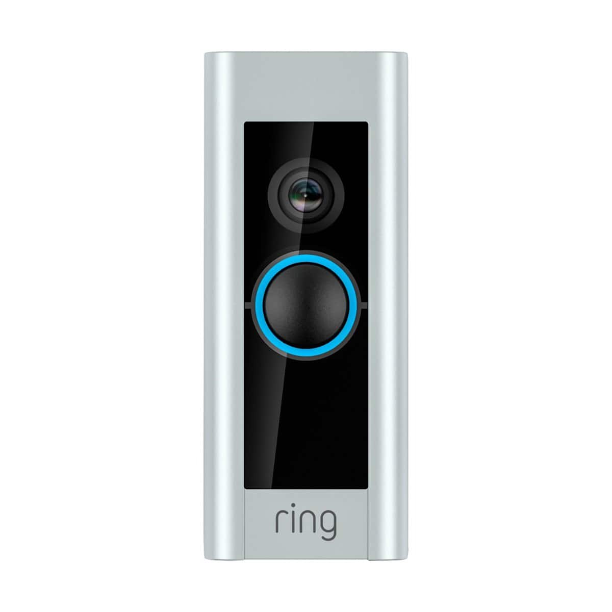 Ring Video Doorbell Pro WiFi 1080P HD Camera with Night Vision - Satin Nickel (88LP000CH000) $159.75 + Free Shipping