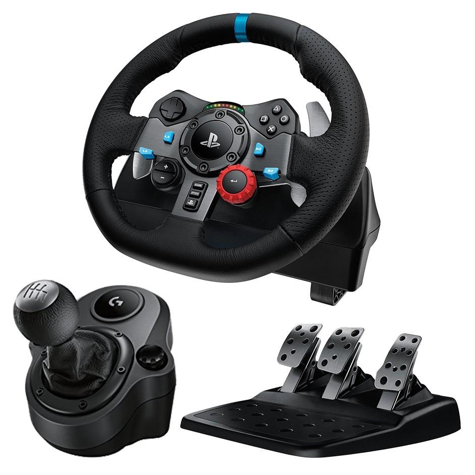 7fd4def4602 Logitech G920 Driving Force Steering Wheel w/ Pedals + Shifter ...