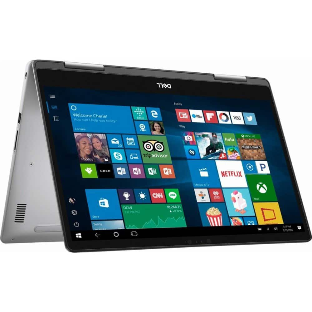 "Dell Inspiron 2-in-1 15.6"" Touchscreen Intel i5-8250U 8GB 2TB Windows 10 Laptop - $549.99 + Free Shipping"