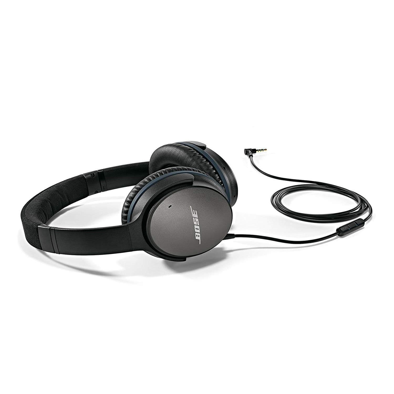Bose Quietcomfort 25 Acoustic Noise Cancelling Wired Headphones Fs Razer Kraken Pro V2 White 13999