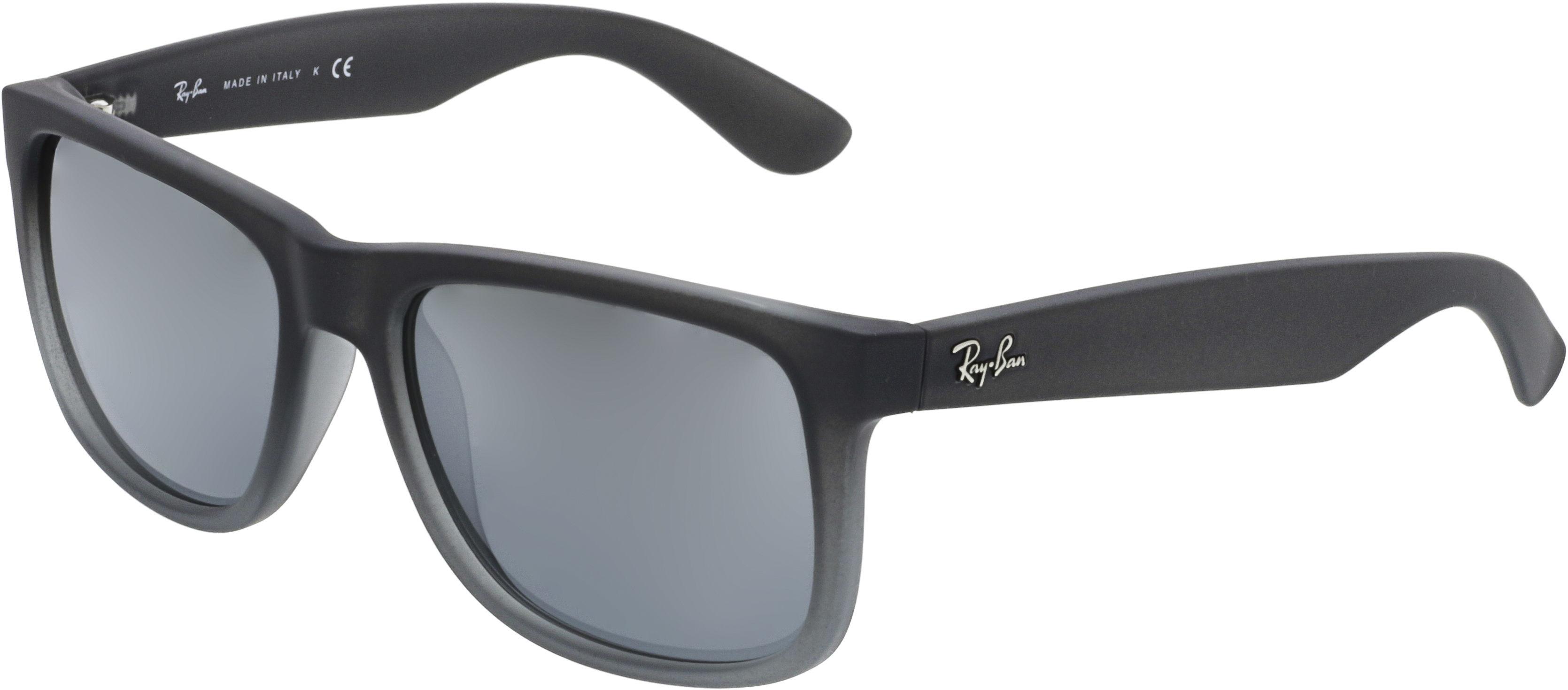 3c8c77a0f Ray-Ban Men's Mirrored Justin RB4165-852/88-54 Grey Square Sunglasses -  $64.99 + FS