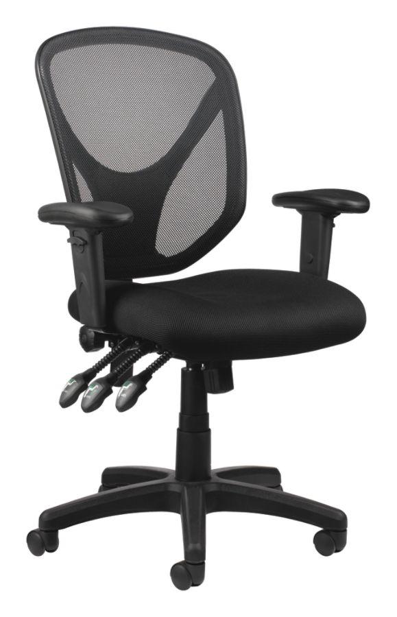 new concept 75ca2 06990 Realspace MFTC 200 Multifunction Ergonomic Super Task Chair ...