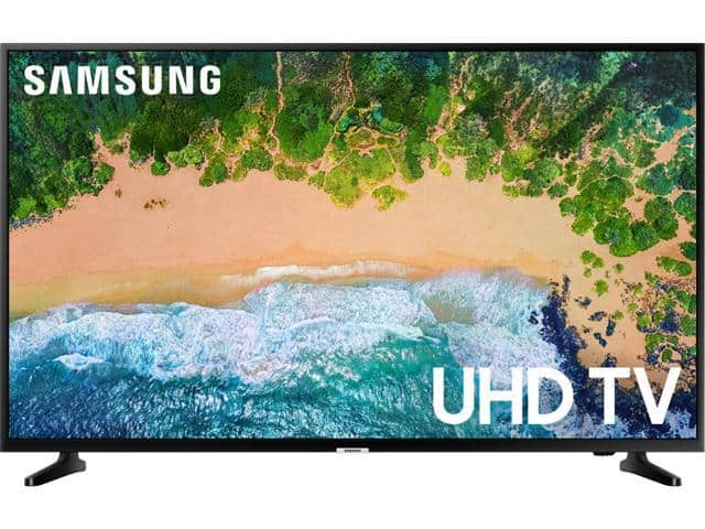 "Samsung NU6900 43"" 4K Motion Rate 120 LED TV UN43NU6900FXZA (2018) - $277.99 + Free Shipping"
