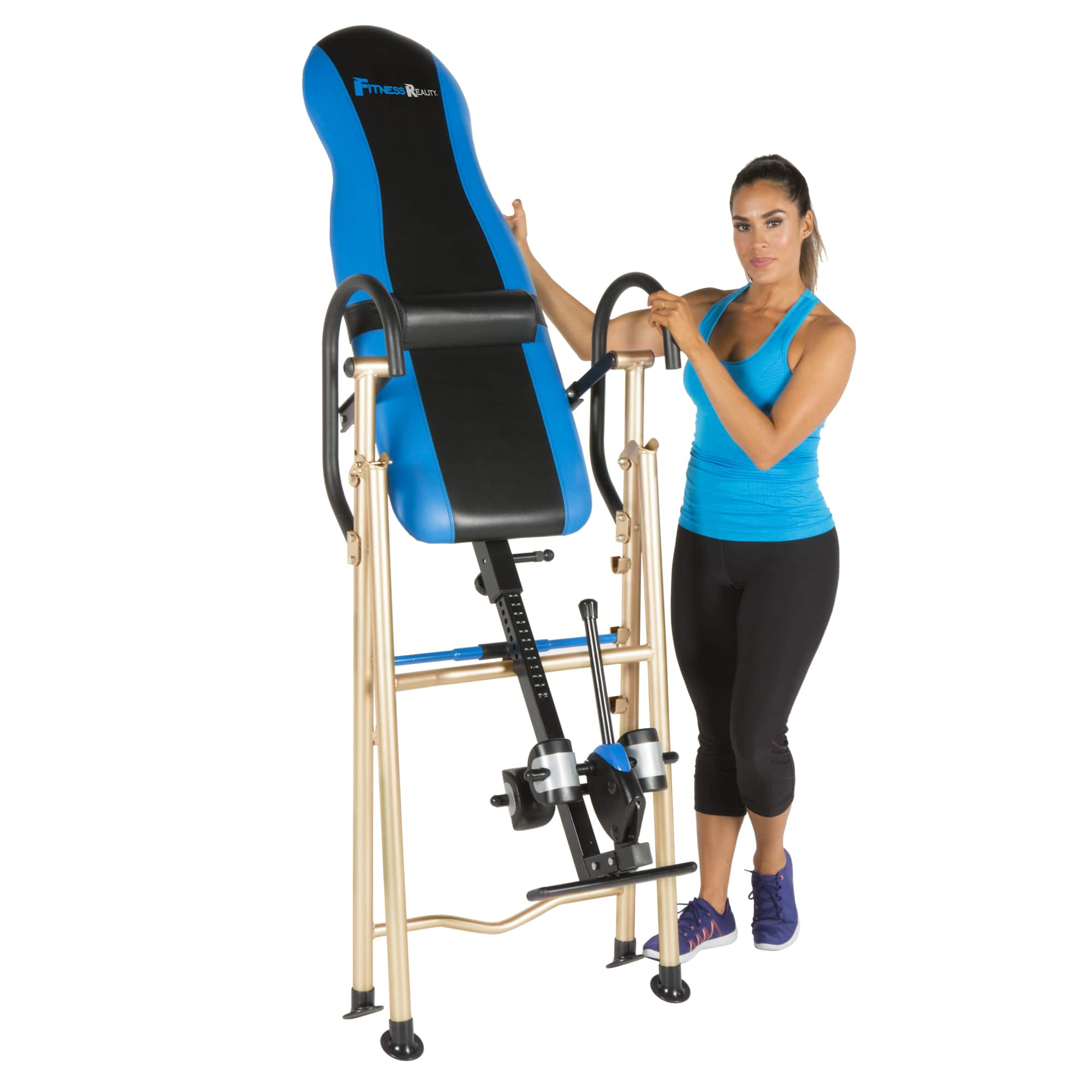 fitness reality 990xl inversion table with unique surelock safety rh slickdeals net