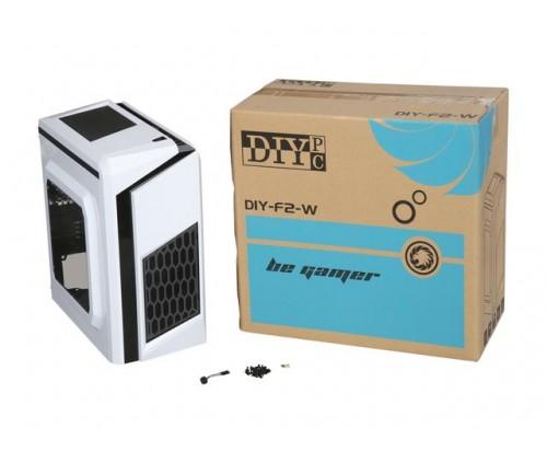 Newegg has DIYPC DIY-F2-W White MicroATX Mini Tower Computer Case - $24.98 + Free Shipping