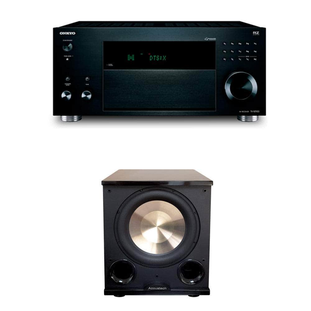 Onkyo, Yamaha, Klispch, and BIC Home Theater Bundles