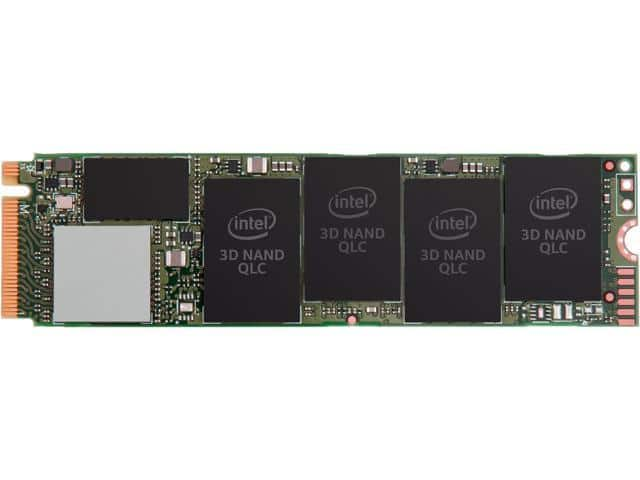 512GB Intel 660p PCIe NVMe 3D QLC M.2 Solid State Drive $74.99 + Free Shipping