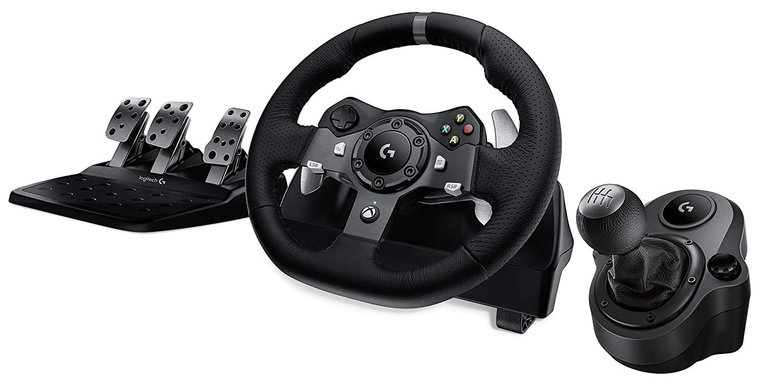 Logitech Driving Force G920 or G29 Racing Wheel with Pedals (Xbox One or PS4) & Logitech Shifter - $219.99 + Free Shipping