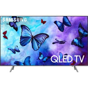 "Samsung QN82Q6FN Flat 82"" QLED 4K UHD 6 Series Smart TV 2018 for $2499 + Free Shipping (eBay Daily Deal)"
