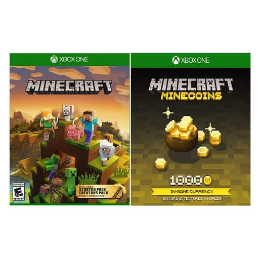 Xbox One Minecraft Master Collection + 1,000 Minecoins Digital Download Card - $18.99 + FS