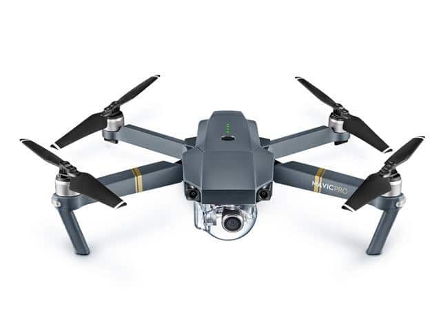 DJI Mavic Pro Mini Drones Portable Hobby RC Quadcopter (Refurbished) + Free Accessories for $599 + Free Shipping