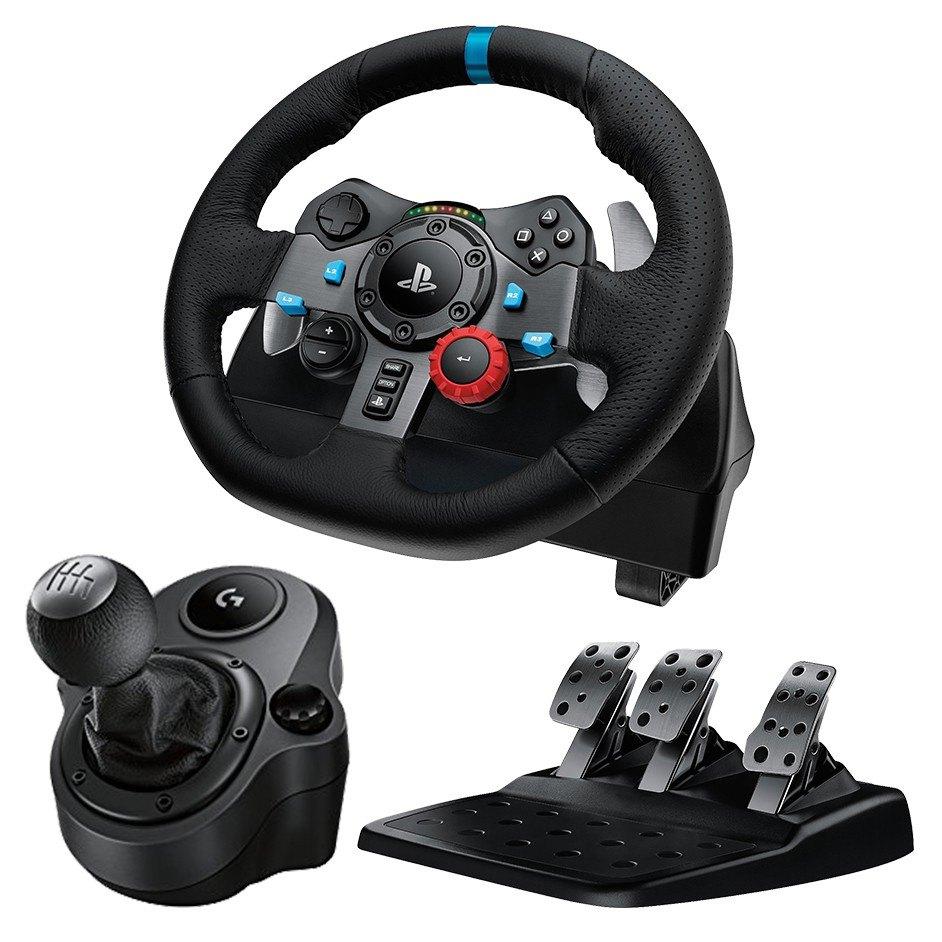 Logitech G29 Driving Force Race Wheel + Logitech G Driving Force Shifter Bundle (PS4 / PC): $220 AC + Free Shipping