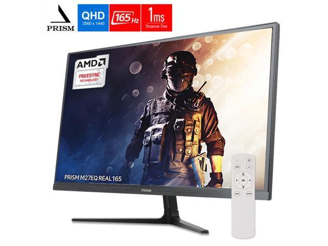 PRISM M27EQ 165Hz 1ms 27 inch LED 2560 x 1440 QHD AMD FreeSync, DisplayPort, HDMI DVI Gaming Monitor - $319.90 + Free Shipping