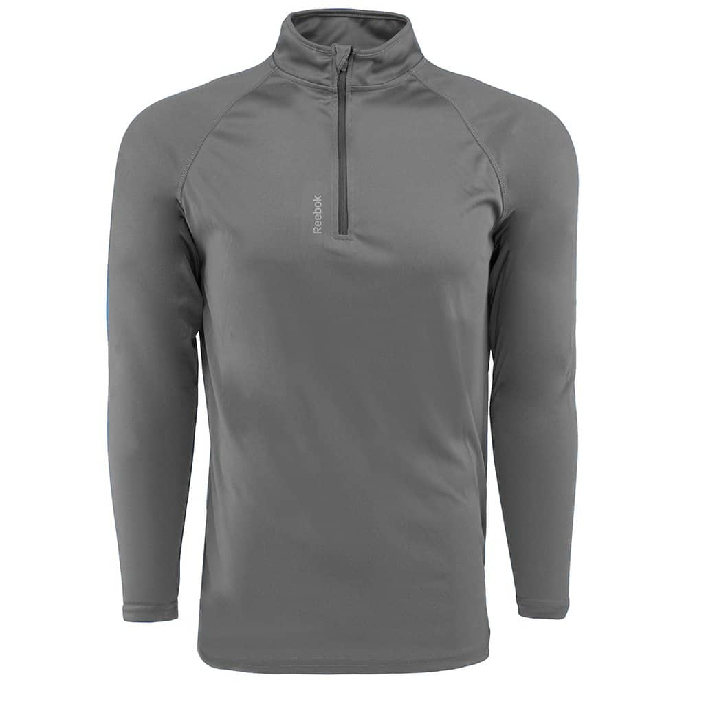 Reebok Men's Play Dry 1/4 Zip Jacket for $17.99 + Free Shipping