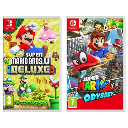 Super Mario Bros Odyssey Nintendo Switch