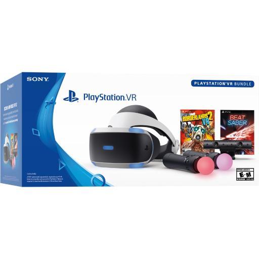 Sony PlayStation VR Borderlands 2 VR and Beat Saber Bundle PS4 - $289.95 + FS