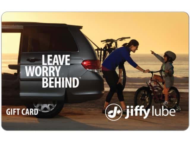 $50 Jiffy Lube Gift Card for $37.50 (Email Delivery)