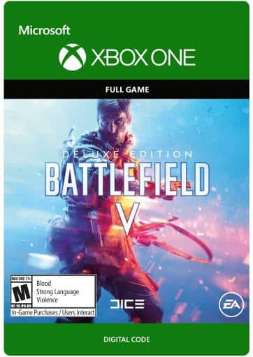 Xbox One Battlefield V Deluxe Edition Digital Download Card - $24.99