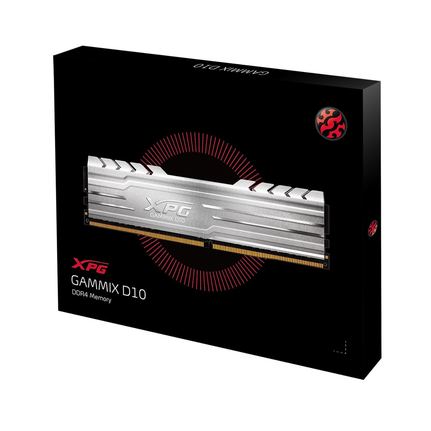 ADATA XPG GAMMIX D10 16GB DDR4: $81 AC + Free Shipping