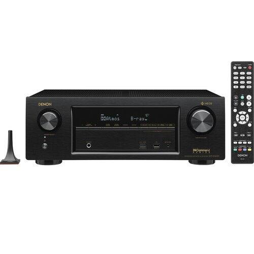 Denon AVRX1400H 7.2 Channel AV Receiver with Built-in Heos Wireless Technology $254 + Free Shipping