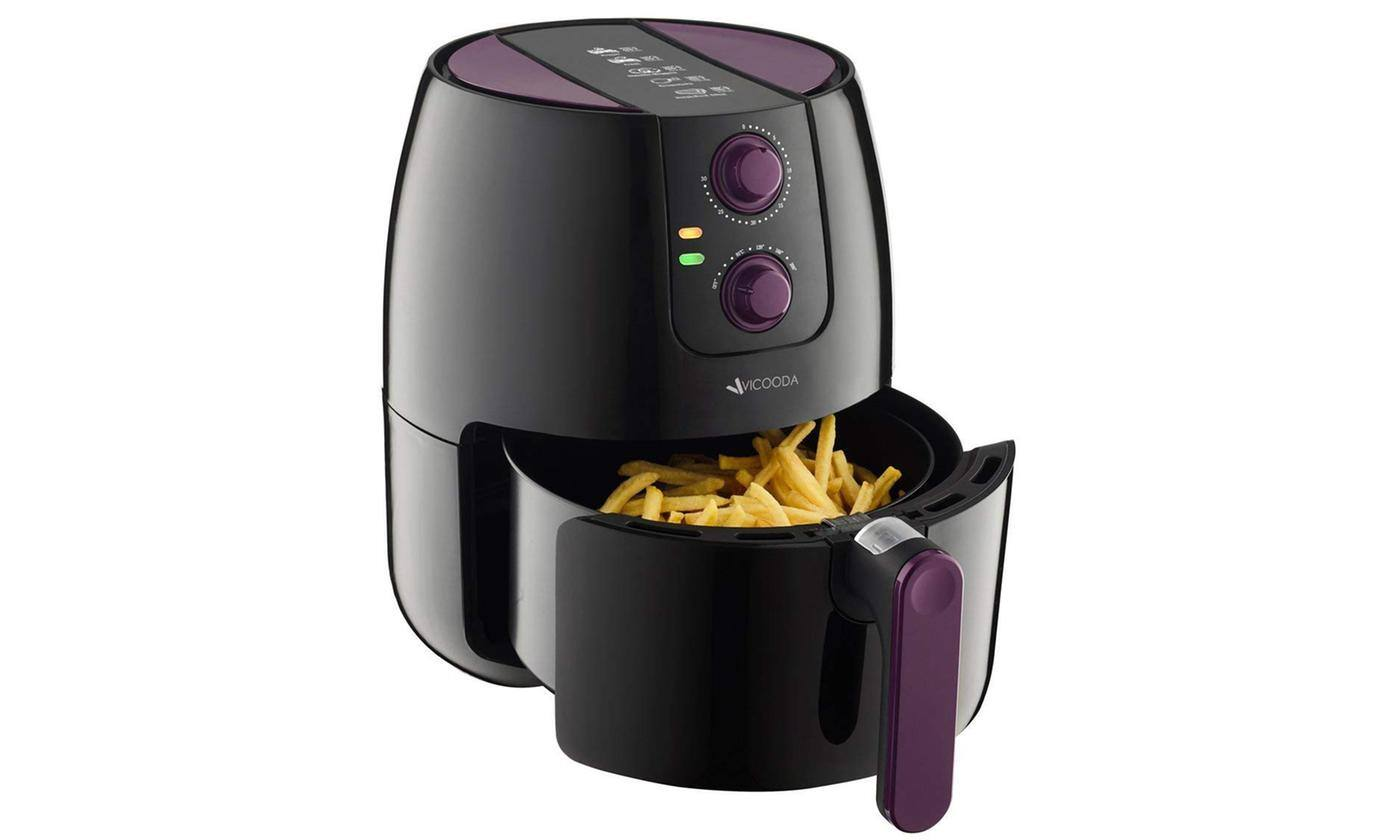 Vicooda Air Fryer 3.7 Quart 1500w Programmable Electric Fryer (ID0012US-01) for $35.99 + Free Shipping