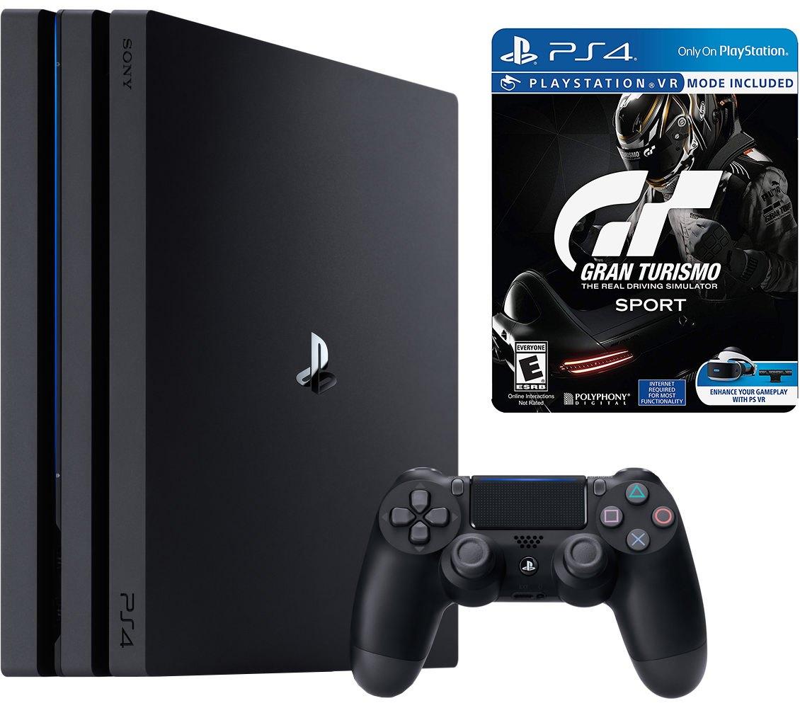 1TB Sony PS4 Pro Console w/ Grand Turismo Sport LE Steelbook - $354 + Free Shipping