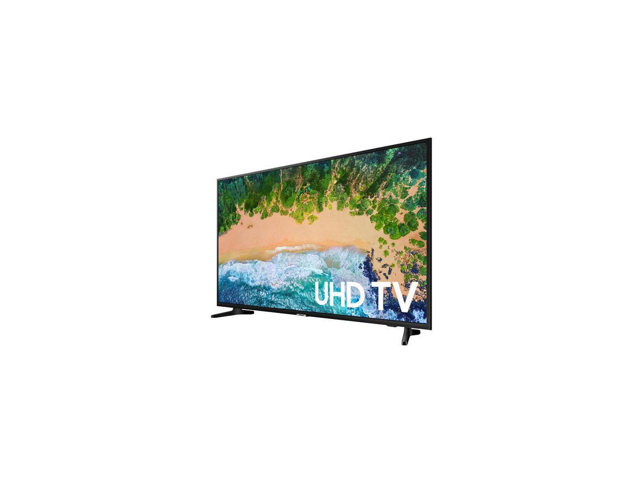 "Samsung NU6900 43"" 4K Motion Rate 120 LED TV UN43NU6900FXZA (2018) + Samsung 128GB FIT PLUS Flash Drive for $297 + FS"