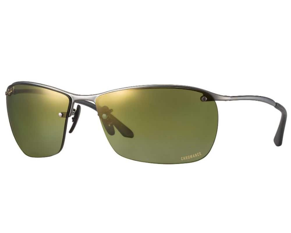f8dbce8ff0e Ray-Ban Polarized Chromance Men s Rimless Sunglasses W  Flash Lens   64 AC +