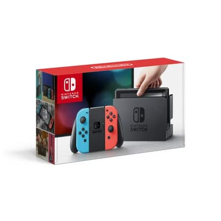 Nintendo Switch Bundle with Your Game of Choice + Ematic Backpack for Nintendo Switch + PowerA Mario Pins for $329.99 + Free Shipping