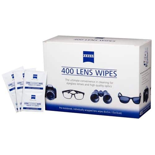 400 - Zeiss Pre-Moistened Lens Cleaning Wipes - $23.79 + Free Shipping