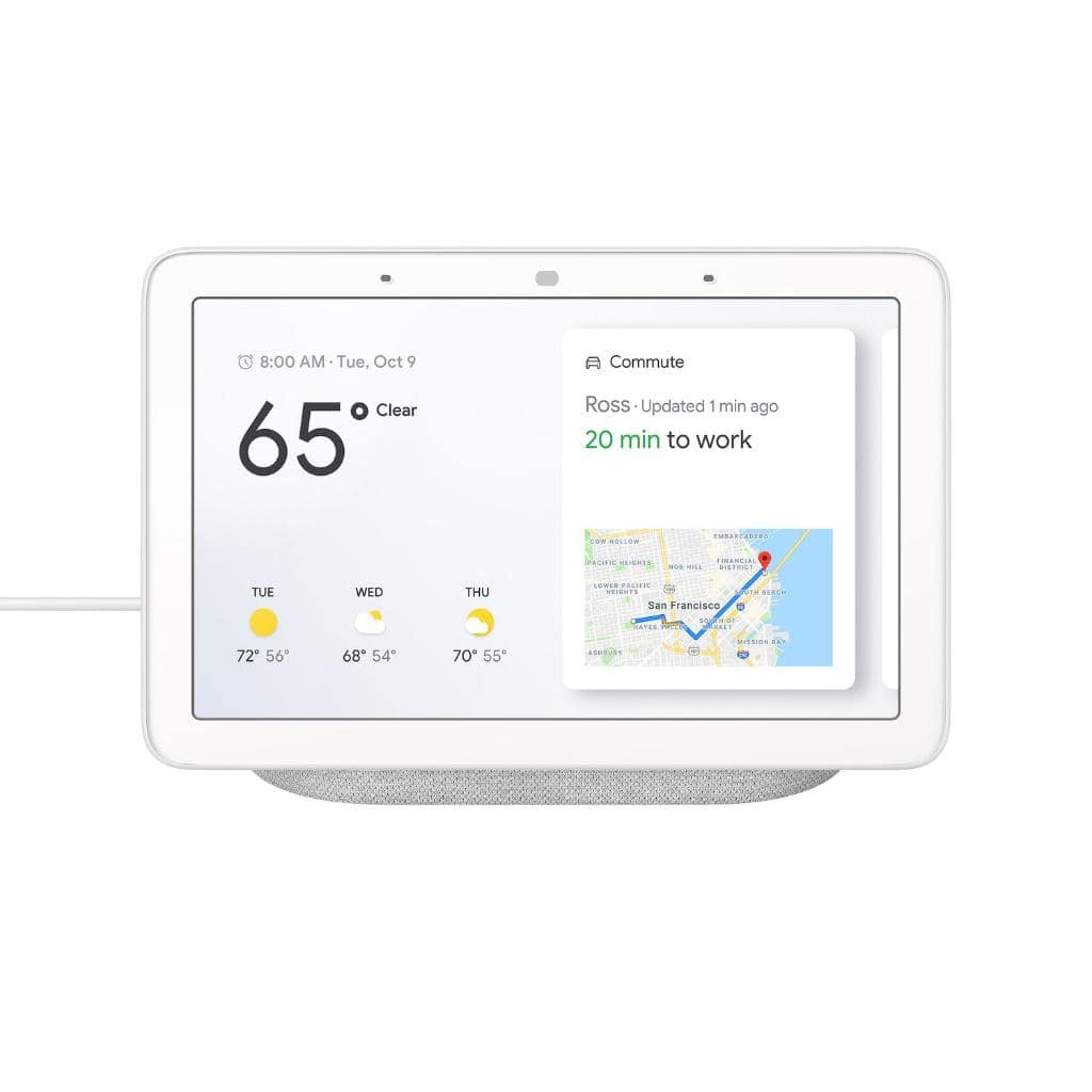 """Google Home Hub 7"""" Touchscreen Smart Display Personal Assistant - $73.95 + Free Shipping"""