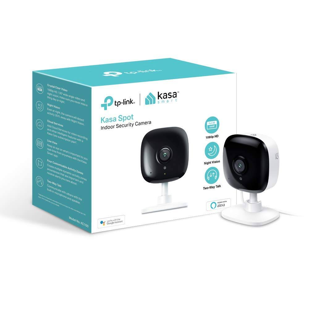 Kasa Smart by TP-Link 1080P WiFi Security Camera $44.99 + FSSS