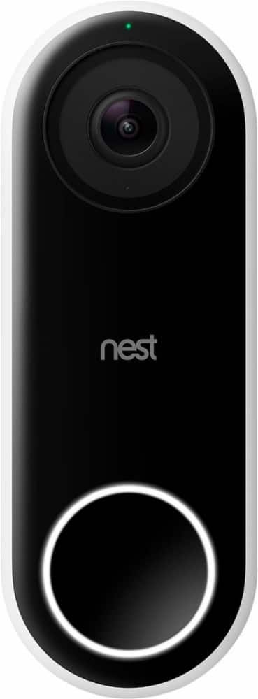 Nest Hello Smart Wi-Fi Video Doorbell - $169.95 + Free Shipping