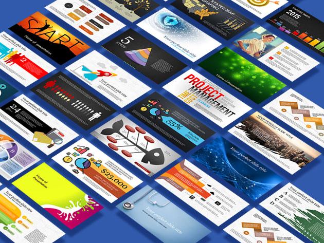 PoweredTemplate Silver Membership: Lifetime Subscription $69.97