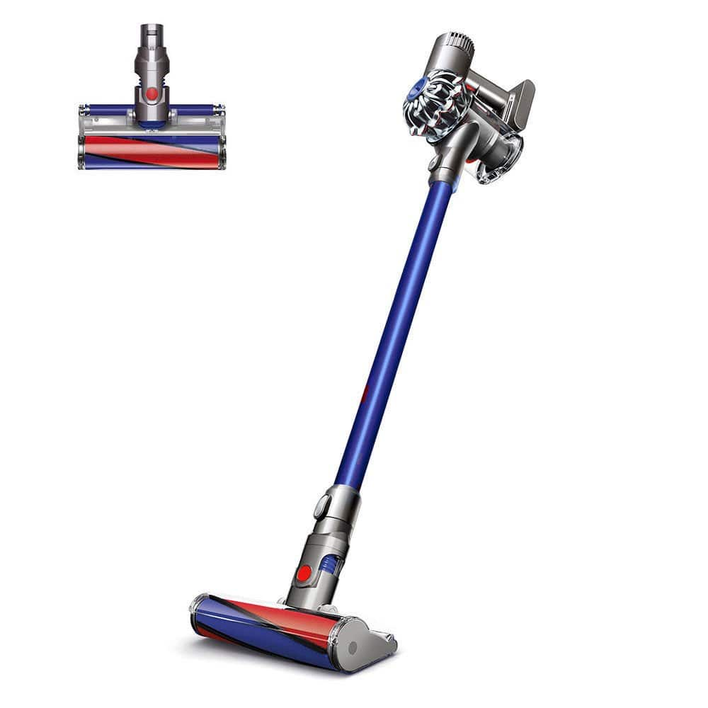 Dyson V6 Fluffy Cordless Vacuum  Blue  New: $149.59 AC + FS  (Other Models Available)