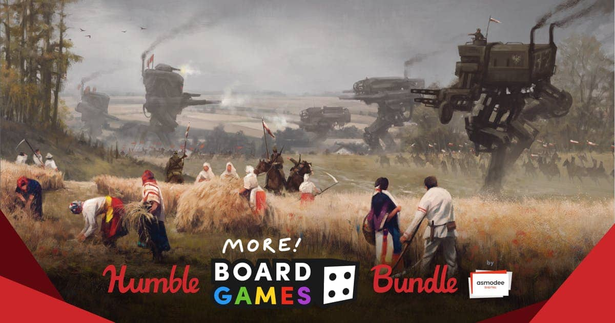 The Humble More Board Games Bundle by Asmodee Digital (PWYW)