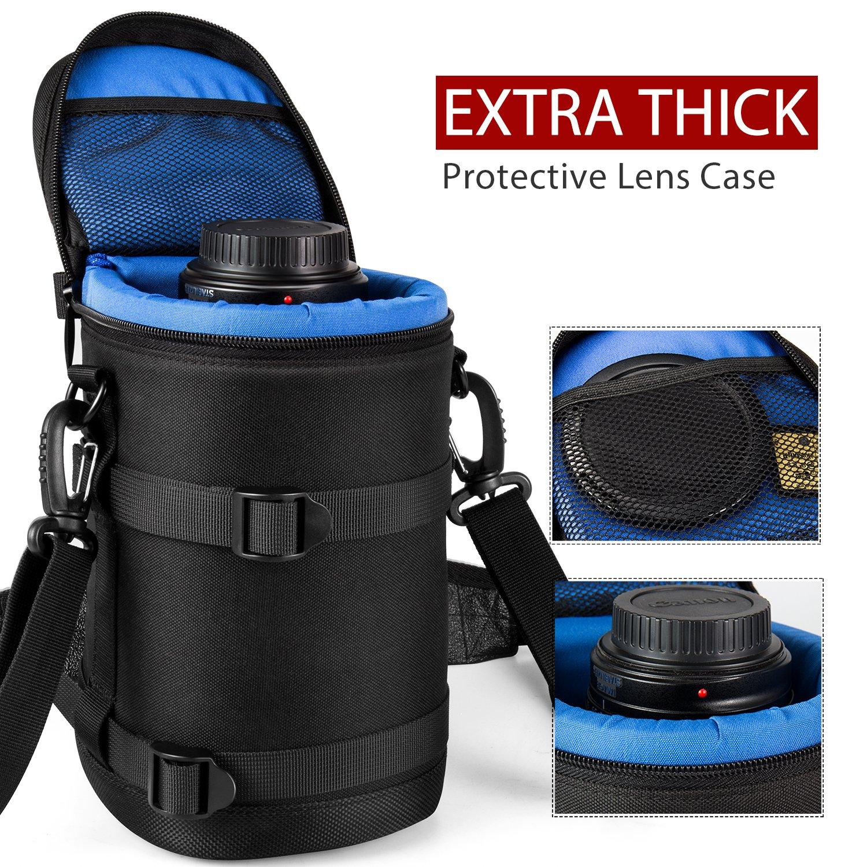 ESDDI Extra Thick Neoprene Lens Case for DSLR Cameras for $10 + FSSS