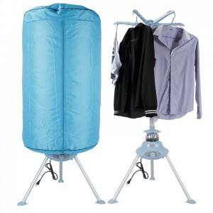 Della Portable Electric Air Clothes Dryer Stand Rack Holder with Heater for $39.99+free shipping