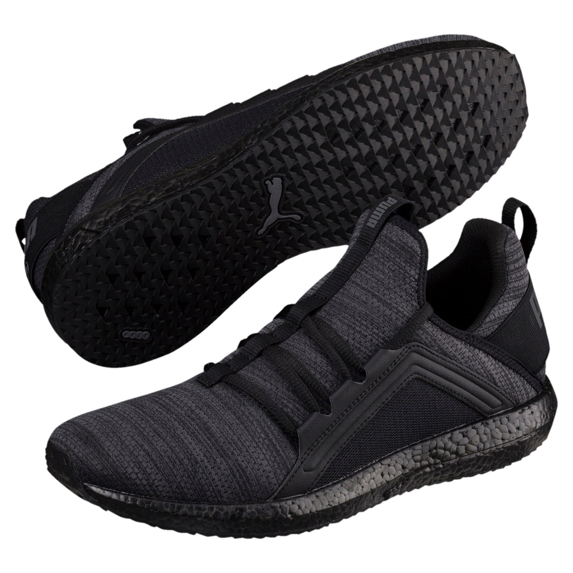 PUMA Mega Nrgy Heather Knit Men's Running Shoes: $31.99 AC + FS (Other Puma Deals Available)