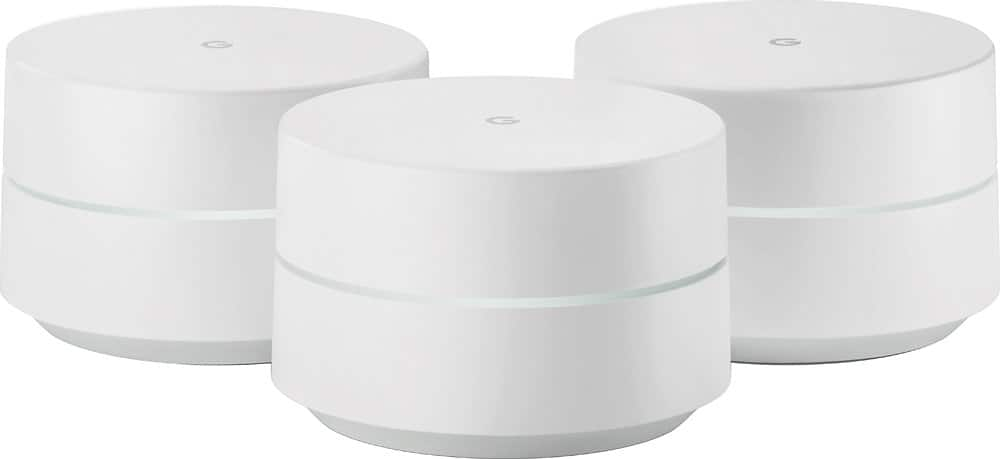 Google Wifi AC1200 Dual-Band Mesh Wi-Fi System (3-Pack) - $224.95 + FS