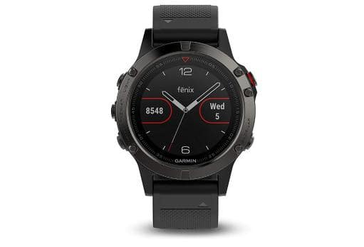 Garmin Fenix 5 Sapphire GPS Fitness Activity Tracker Watch with Heart Rate Monitor - $349.95 + FS