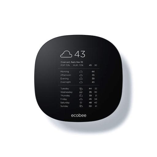 Ecobee3 Lite Wi-Fi Thermostat - $115.99 + Freee Shipping