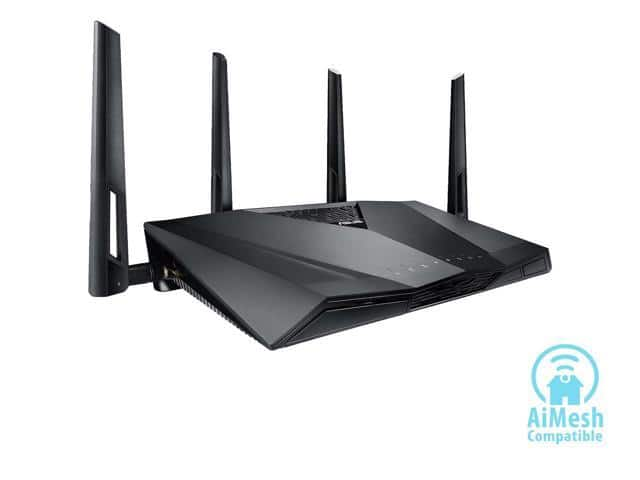 ASUS RT-AC3100 Wi-Fi Dual-band Gigabit Wireless Router with 4x4 MU-MIMO, 4 x LAN Ports $174.99 + Free Shipping