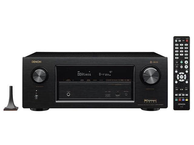 Denon AVR-X3400H 7.2 Channel Full 4K Ultra HD Network 4K Receiver with HEOS + $50 GC for $499  Denon AVR-X4400 + $75 NE GC for $799 + Free Shipping