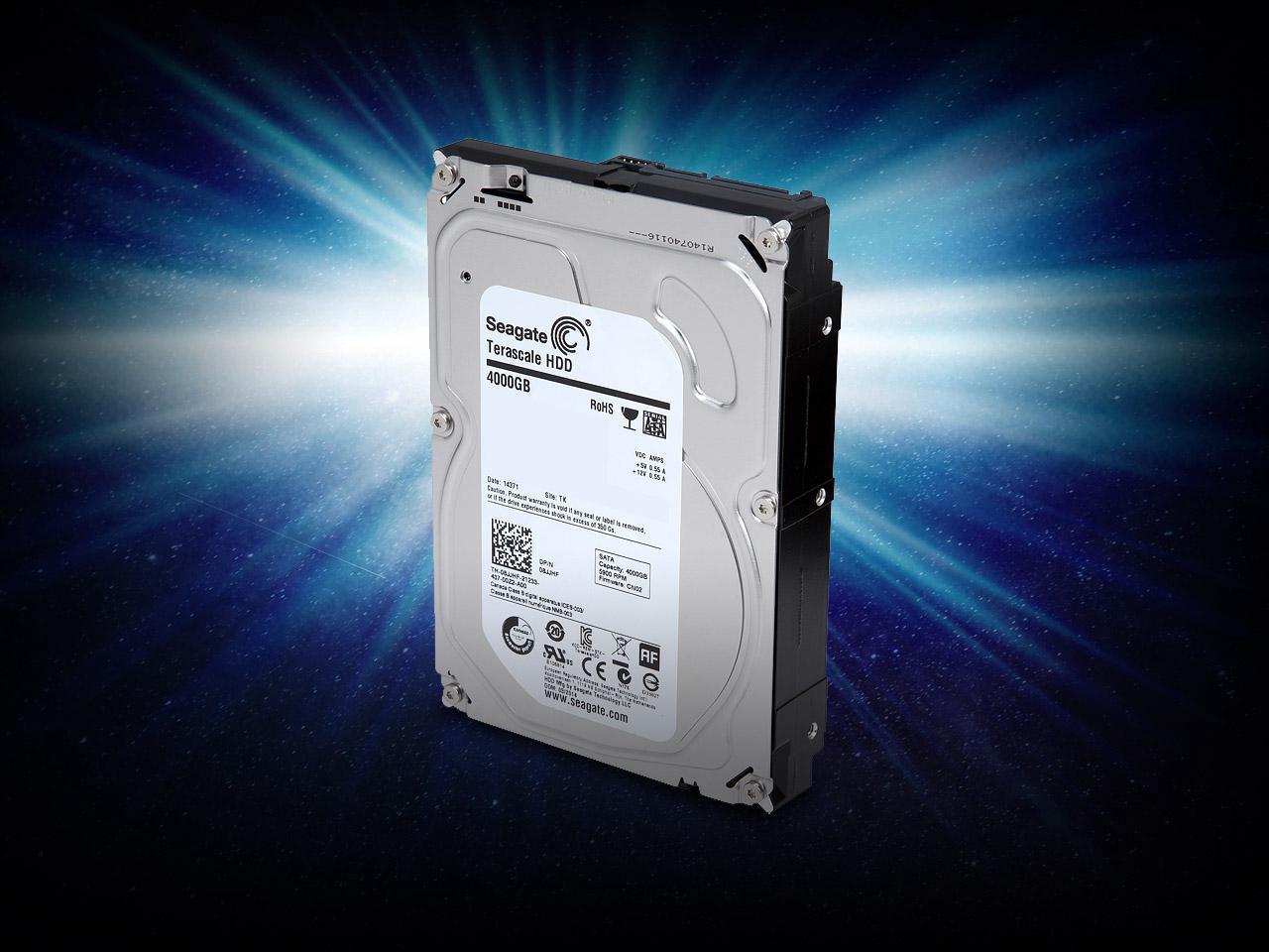 """Seagate 4TB 5900 RPM 64MB Cache SATA 6.0Gb/s 3.5"""" Terascale Hard Drive Bare Drive - $64.99 + Free Shipping"""