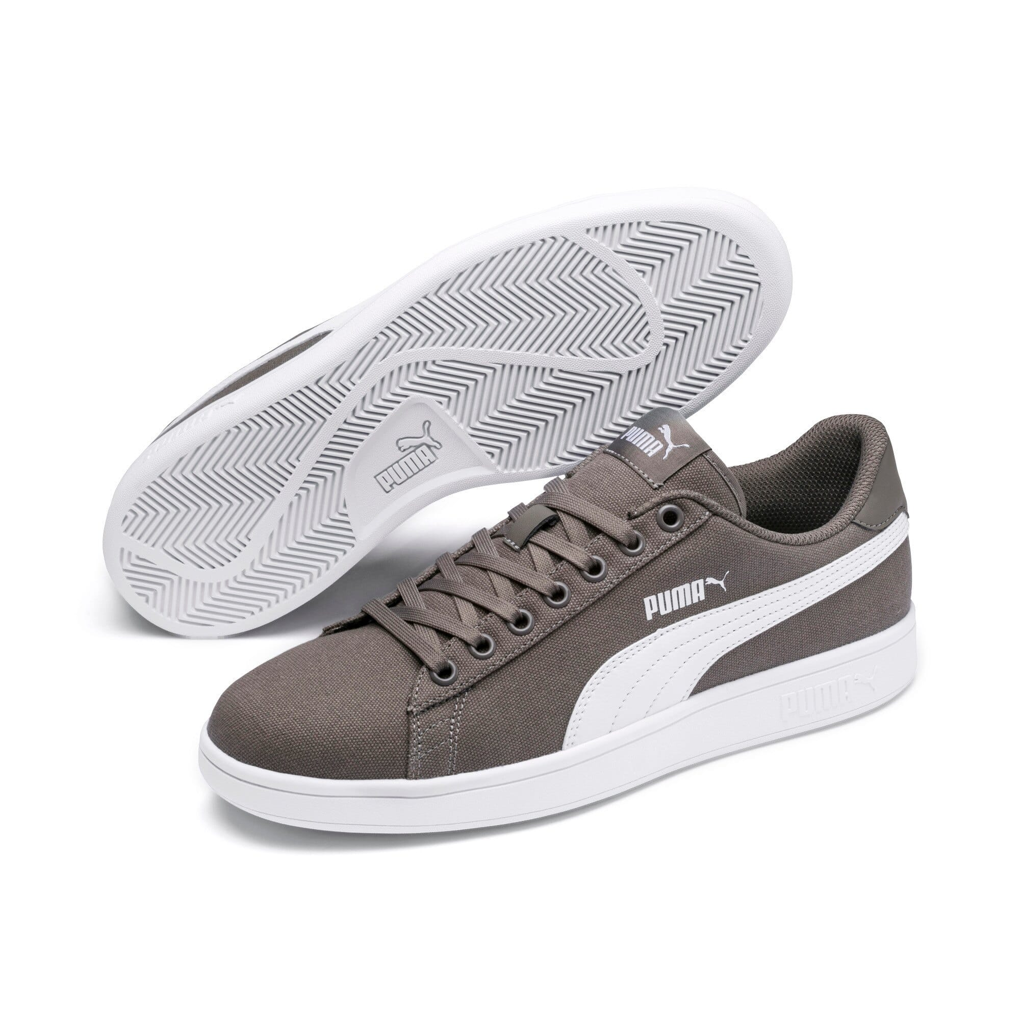 puma canvas noir