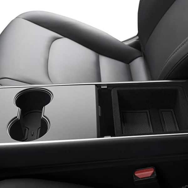 Tesla Model 3 Center Console Wrap and Liner Kit (Includes Cup Holder Liner) (Black) $15.99 + Free Shipping